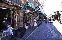 Yemen Sana'a, shops street