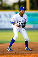 Third baseman Malcom Culver #24 of the Burlington Royals on defense versus the Bluefield Orioles at Burlington Athletic Park June 30, 2009 in Burlington, North Carolina. (Photo by Brian Westerholt / Four Seam Images)