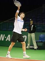 06-02-11, Tennis, Netherlands, Rotterdam, ABNAMROWTT 2011, Evgeny Korolev,