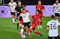 2nd June 2021, Tivoli Stadion, Innsbruck, Austria; International football friendly, Germany versus Denmark;  Thomas MUELLER GER , Action tackled by Pierre Emile HOEJBJERG DEN