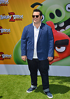 """LOS ANGELES, USA. August 10, 2019: Josh Gad at the premiere of """"The Angry Birds Movie 2"""" at the Regency Village Theatre.<br /> Picture: Paul Smith/Featureflash"""