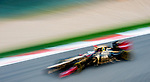 Lotus F1 Team driver Kimi Raikkonen of Finland speeds his E20 car during the UBS Chinese F1 Grand Prix at Shanghai International circuit April 13, 2012. Photo by Victor Fraile