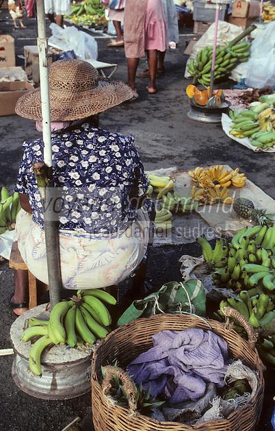 France/DOM/Martinique/Fort de France: Le marché