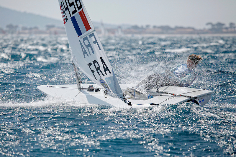 ISAF Sailing World Cup Hyères - Fédération Française de Voile. Laser Radial, Marie Bolou.