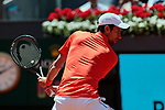 Noval Djokovic during the Mutua Madrid Open Masters match on day 7 at Caja Magica in Madrid, Spain.May 09, 2019. (ALTERPHOTOS/A. Perez Meca)