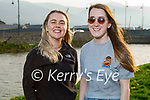 Enjoying a stroll in Blennerville on Thursday, l to r: Laura Byrne and Carol McMahon.