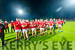 East Kerry team celebrates after the Kerry County Senior Football Championship Final match between East Kerry and Mid Kerry at Austin Stack Park in Tralee on Saturday night.