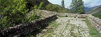 Europe/France/Provence-Alpes-Côtes d'Azur/06/Alpes-Maritimes/Alpes-Maritimes/Arrière Pays Niçois/La Brigue: le Pont du Coq- Pont Romain