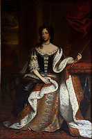 Portrait of Mary of Modena, Queen Consort of James II, by William Wissing