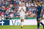 Real Madrid's player Gareth Bale during a match of La Liga Santander at Santiago Bernabeu Stadium in Madrid. August 27, Spain. 2016. (ALTERPHOTOS/BorjaB.Hojas)