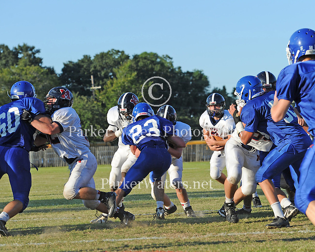 Country Day defeats St. Martin's 34-20 in a battle for the Megaphone at Country Day.
