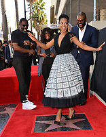 LOS ANGELES, CA. October 01, 2019: Kerry Washington, Idris Elba, Crystal Fox & Tyler Perry at the Hollywood Walk of Fame Star Ceremony honoring Tyler Perry.<br /> Pictures: Paul Smith/Featureflash