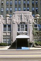 St. Louis: Park Plaza Hotel, entrance.