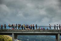 roadside fans<br /> <br /> Stage 10 from Albertville to Valence (190.7km)<br /> 108th Tour de France 2021 (2.UWT)<br /> <br /> ©kramon