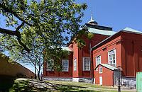 Holzkirche Ulrica Pia Kyrka= Admiralitätskirche in Karlskrona, Provinz Blekinge, Schweden, Europa, UNESCO-Weltkulturerbe<br /> wooden church Ulrica Pia Kyrka  in Karlskrona, Province Blekinge, Sweden