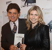 Marc Fisher (G) <br />  et la jeune milionnaire Elianne Gamache , 17 nov 2014<br /> <br /> PHOTO : Agence Quebec Presse