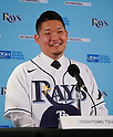 Baseball: Yoshitomo Tsutsugo signs two-year contract with Tampa Bay Rays