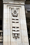 Detail On The Bank's Building On The Hankou (Hankow) Bund.