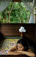 Spa setting in Palau Micronesia