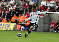ATTENTION SPORTS PICTURE DESK<br /> Pictured: Leon Britton of Swansea City.<br /> Re: Coca Cola Championship Swansea City Football Club v Watford at the Liberty Stadium, Swansea, south Wales. Saturday 29 August 2009<br /> Picture by D Legakis Photography / Athena Picture Agency, 24 Belgrave Court, Swansea, SA1 4PY, 07815441513