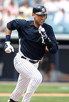 April 3, 2010:  Shortstop Derek Jeter (2) of the New York Yankees playing in the annual Futures Game during Spring Training at Legends Field in Tampa, Florida.  Photo By Mike Janes/Four Seam Images
