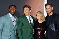 "LOS ANGELES, CA: 24, 2020: Aldis Hodge, Jason Blum, Elisabeth Moss & Oliver Jackson-Cohen at the premiere of ""The Invisible Man"" at the TCL Chinese Theatre.<br /> Picture: Paul Smith/Featureflash"