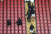 Forest Green players make their way to the pitch during Leyton Orient vs Forest Green Rovers, Sky Bet EFL League 2 Football at The Breyer Group Stadium on 23rd January 2021
