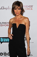 LOS ANGELES, CA, USA - NOVEMBER 18: Lisa Rinna arrives at the Los Angeles Premiere Of Bravo's 'Girlfriends' Guide to Divorce' held at the Ace Hotel on November 18, 2014 in Los Angeles, California, United States. (Photo by Celebrity Monitor)