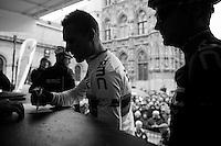 53rd Brabantse Pijl 2013..Philippe Gilbert (BEL) signing in