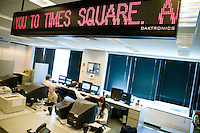 Dow Jones Edits the Times Square Zipper
