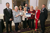 The team from Uttoxeter Train Station, winners of the East Midlands Trains Station Environment Award