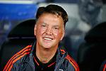 Belgie, Brugge, 26 augustus 2015<br /> Champions League play offs<br /> Seizoen 2015-2016<br /> Club Brugge-Manchester United (0-4)<br /> Louis van Gaal, trainer-coach van Manchester United