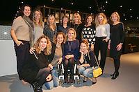 Rotterdam, The Netherlands, Februari 9, 2016,  ABNAMROWTT, Daphne Deckers, Esther Vergeer (NED)<br /> Photo: Tennisimages/Henk Koster
