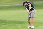 23 June 2011; USA Moria Dunn used her iron on the 2nd fairway during the LPGA Championship at Locust Hill Country Club in Pittsford, NY, USA; .Mandatory Credit: Nick Serrata/Eclipse Sportswire