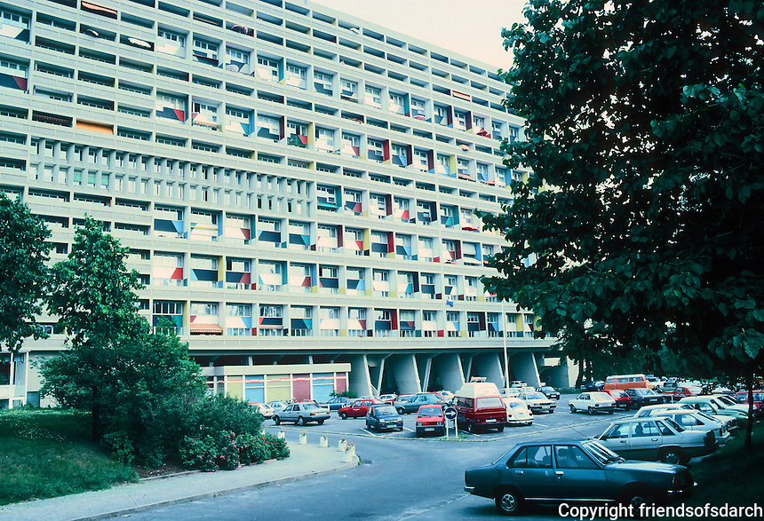 Le Corbusier: Unite D'Habitation, Berlin 1957/58.