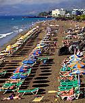 Spanien, Kanarische Inseln, Lanzarote, Puerto del Carmen, Playa Blanca, Strand   Spain, Canary Island, Lanzarote, Puerto del Carmen, Playa Blanca, beach
