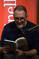 """Valerio Mastandrea.<br /> <br /> Rome, 03/02/20. The Galleria Alberto Sordi (outside la Feltrinelli store) was the venue for the book presentation """"Giulio Fa Cose"""" (Giulio Does Things, Ed. la Feltrinelli 1.) written by Paola Deffendi and Claudio Regeni (Giulio Regeni's Parents), and Alessandra Ballerini (Regeni's Lawyer). The event was hosted by Marino Sinibaldi (Journalist, literary critic, Radio host). Reader was Valerio Mastandrea (Director & Actor). From la Feltrinelli's website: «The world of politics has not yet responded to the tragedy of Giulio Regeni, who died on 25 January 2016 in Cairo. Al Sisi's Egypt did not respond. Indeed, it continues to sabotage the investigation into the kidnapping, torture and murder of the son of Paola and Claudio Regeni: in four years the Egyptians have killed five innocent people, invented incredible stories, falsified documents to remove suspects from their apparatuses. But without succeeding[…]» (1.)<br /> Giulio Regeni was an Italian Cambridge University graduate (PhD student at Girton College) who was kidnapped, tortured and killed in Egypt while he was researching Egypt's independent trade unions. The body of the 28-year-old researcher was found on a Cairo road on 3 February 2016. According to the autopsy, Giulio died after a vertebra in his neck was fractured. Moreover, his body - found on the Cairo-Alexandria desert road - shown signs of tortures, abrasions - including marks similar to cigarette burns - and fractures. After four years of disinformation, depistaggi, reticence, misdirection, the role of the Cambridge University, the role of President Al-Sisi Egyptian regime, after four years of a very difficult investigations for the Italian Police, the Regeni family and thousands of people are still calling for immediate truth about this brutal assassination.<br /> <br /> 1. http://bit.do/fqv39<br /> https://giuliosiamonoi.wordpress.com<br /> http://bit.do/frEzC<br /> 25.01.20 4 Anni Senza Giulio http://bit.do/frExj<br />"""