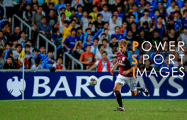 Barry Bannan of Aston Villa in action during the Asia Trophy Final match aganist Chelsea at the Hong Kong Stadium on July 30, 2011 in So Kon Po, Hong Kong. Photo by Victor Fraile / The Power of Sport Images