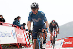 Miguel Angel Lopez Moreno (COL) Movistar Team crosses the line in 3rd place at the end of Stage 17 of La Vuelta d'Espana 2021, running 185.8km from Unquera to Lagos de Covadonga, Spain. 1st September 2021.    <br /> Picture: Luis Angel Gomez/Photogomezsport   Cyclefile<br /> <br /> All photos usage must carry mandatory copyright credit (© Cyclefile   Luis Angel Gomez/Photogomezsport)