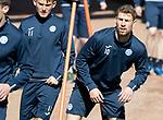St Johnstone Training…10.05.18<br />David Wotherspoon pictured during training ahead of the final game of the season against Ross County<br />Picture by Graeme Hart.<br />Copyright Perthshire Picture Agency<br />Tel: 01738 623350  Mobile: 07990 594431