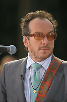 ELVIS COSTELLO <br /> PERFORMING AT THE NBC CONCERT SERIES, ROCKEFELLER CENTER, <br /> NEW YORK CITY 07-22-2005<br /> Photo By John Barrett/PHOTOlink.net