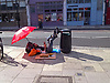 Making the best of living on the street in Fortess Road, Tuffnel Park, London N7<br />