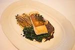 Fish Dinner, Zafferando Restaurant, London, England, UK, United Kingdom, Great Britain, Europe, European