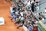 Photographers during Madrid Open Tennis 2015 Final match.May, 10, 2015.(ALTERPHOTOS/Acero)