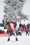 HOLMENKOLLEN, OSLO, NORWAY - March 16: Christoph Bieler of Austria (AUT) during the cross country 15 km (2 x 7.5 km) competition at the FIS Nordic Combined World Cup on March 16, 2013 in Oslo, Norway. (Photo by Dirk Markgraf)