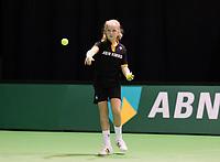 Rotterdam, Netherlands, 11 februari, 2018, Ahoy, Tennis, ABNAMROWTT, Ballgirl<br /> Photo: Henk Koster/tennisimages.com