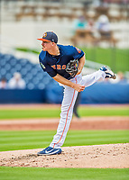 1 March 2017: Houston Astros pitcher Chris Devenski on the mound during Spring Training action against the Miami Marlins at the Ballpark of the Palm Beaches in West Palm Beach, Florida. The Marlins defeated the Astros 9-5 in Grapefruit League play. Mandatory Credit: Ed Wolfstein Photo *** RAW (NEF) Image File Available ***
