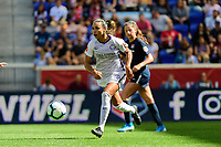 HARRISON, NJ - SEPTEMBER 29: Marta Vieira da Silva #10 of the Orlando Pride during a game between Orlando Pride and Sky Blue FC at Red Bull Arena on September 29, 2019 in Harrison, New Jersey.