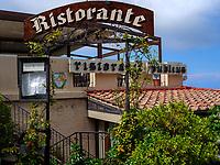 Restaurant Publius, Piazza XX Septembre, Poggio, Elba, Region Toskana, Provinz Livorno, Italien, Europa<br /> Region Tuscany, Province Livorno, Italy, Europe