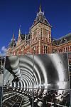 Centraal Station, train station, Amsterdam, Netherlands